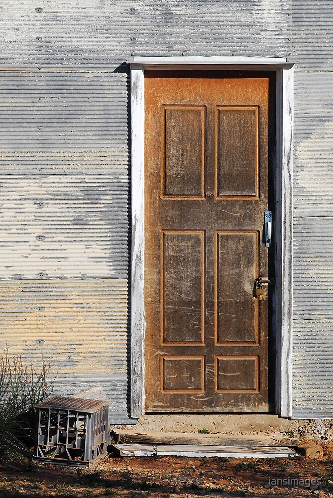 Door Silverton by iansimages