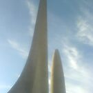 Paarl monument daylight by Beth Furnell