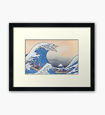 TheWave Framed Print