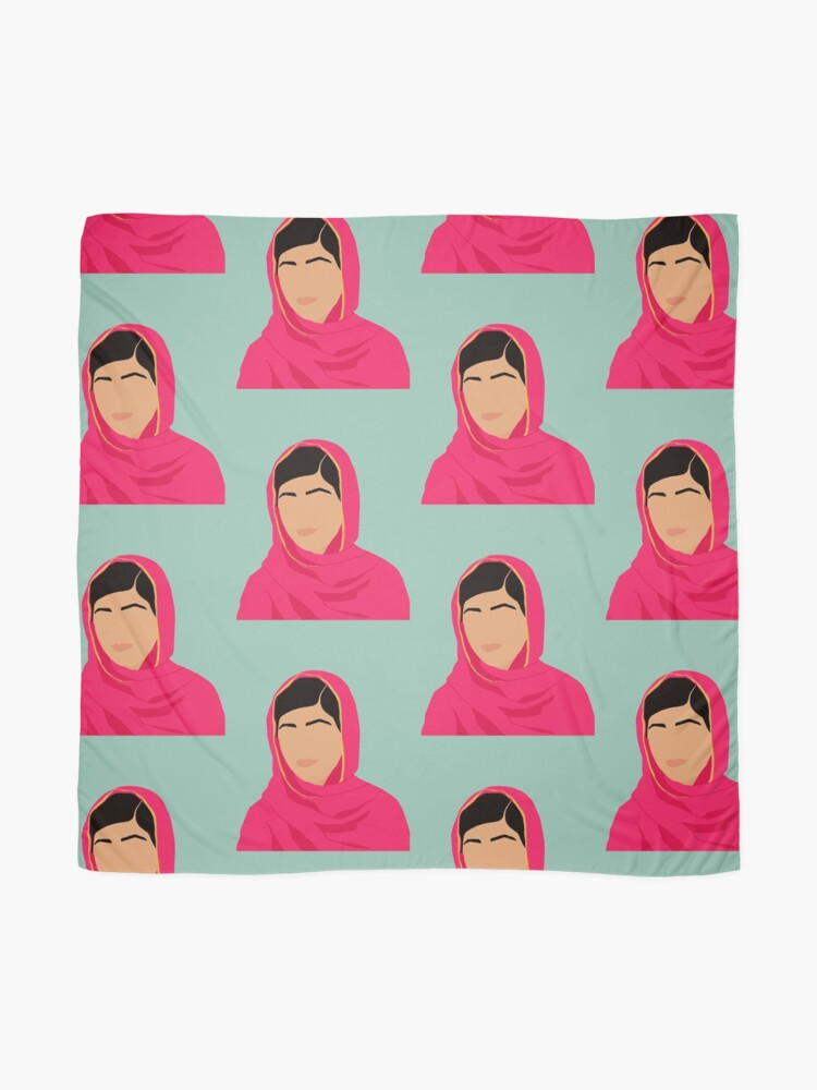 Alternate view of Malala - Feminist Icons & Inspiring Women Scarf