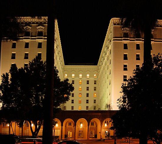 The Old Senator Hotel, Downtown Sacramento, CA by Lenny La Rue, IPA