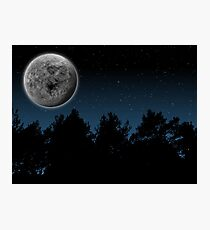 Moon Night Photographic Print