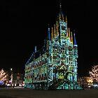 Christmas in Gouda II by Hans Bax