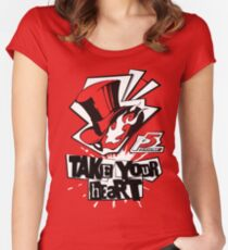 Persona 5 Shirt Women's Fitted Scoop T-Shirt