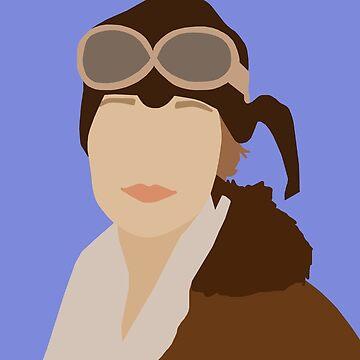Amelia Earhart von thefilmartist