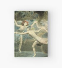 BLAKE, William Blake, Oberon, Titania and Puck with Fairies Dancing. William Shakespeare, A Midsummer Night's Dream Hardcover Journal