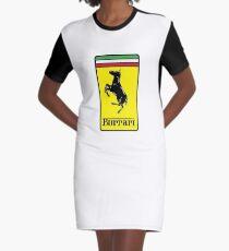 Burrari - Funny Mexican Design Graphic T-Shirt Dress