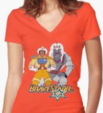 brave 11 Women's Fitted V-Neck T-Shirt