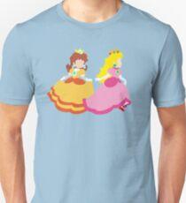 Princess Peach & Princess Daisy (Toadstool) T-Shirt