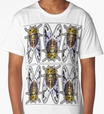 Golden Cicadas Long T-Shirt