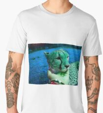 Psychedelic Cheetah  Men's Premium T-Shirt