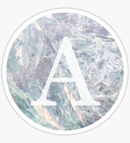 mármol 2.0 - alfa Pegatina