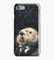A Dapper Sea Otter iPhone Case/Skin