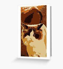 Greta the Cat Greeting Card