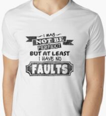 I May Not Be Perfect - Funny Saying Men's V-Neck T-Shirt