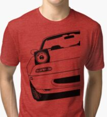 Mazda MX5 NA Mk1 Best Shirt Design Tri-blend T-Shirt