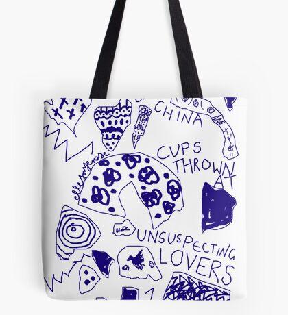 'Broken Love China' Tote Bag
