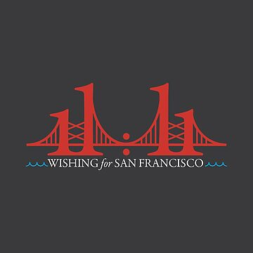 Wishing for San Francisco (light on dark) by AlyOhDesign
