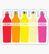 Svedka bottles  Sticker