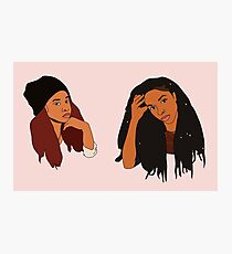 2 Dope Queens Photographic Print