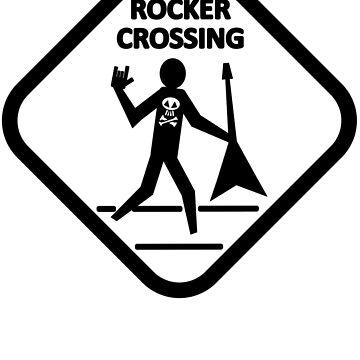 Rocker Crossing - Guitarist by JettKredo