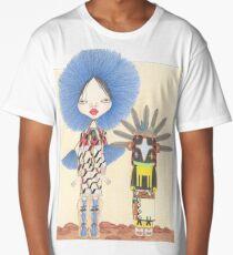 BARBALA AND CROW KACHINA Long T-Shirt
