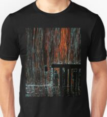 """""""Waiting For The Bus In The Rain"""" Unisex T-Shirt"""