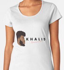 Khalid American Teen Women's Premium T-Shirt