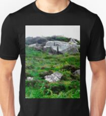 Irish boulders, Donegal, Ireland Unisex T-Shirt