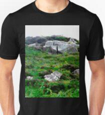 Irish boulders, Donegal, Ireland T-Shirt
