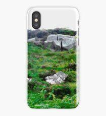 Irish boulders, Donegal, Ireland iPhone Case
