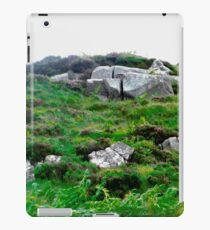 Irish boulders, Donegal, Ireland iPad Case/Skin