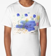 Two Kayaks on the Bay Long T-Shirt
