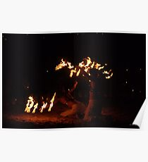 FIRE BREATHING DRAGON Poster