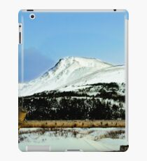 Snowy mountain top iPad Case/Skin