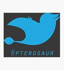 Hashtag Twitopterus Photographic Print