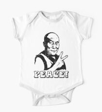 Dalai Lama Peace Sign T-Shirt Kids Clothes