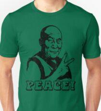 Dalai Lama Peace Sign T-Shirt Unisex T-Shirt