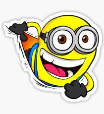 Minion Sticker Sticker