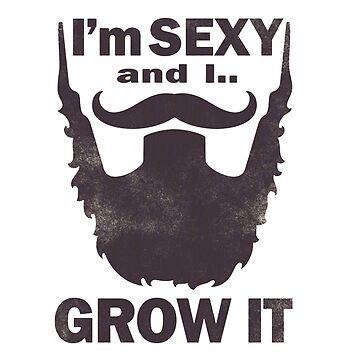 Sexy Beard & I Grow it  by zikoblade