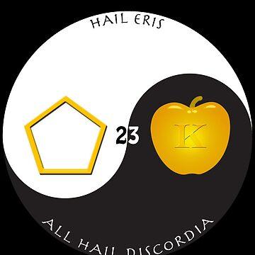 Hail Eris by hugh023