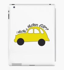 Neal & Emma (Swanfire) - I stole a stolen car? (Once Upon A time) iPad Case/Skin
