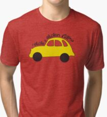 Neal & Emma (Swanfire) - I stole a stolen car? (Once Upon A time) Tri-blend T-Shirt
