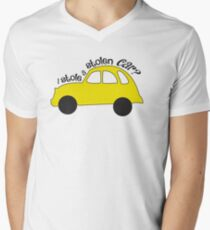 Neal & Emma (Swanfire) - I stole a stolen car? (Once Upon A time) Mens V-Neck T-Shirt