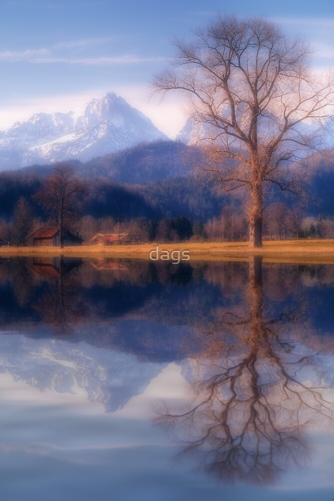 Alpine Reflections by dags