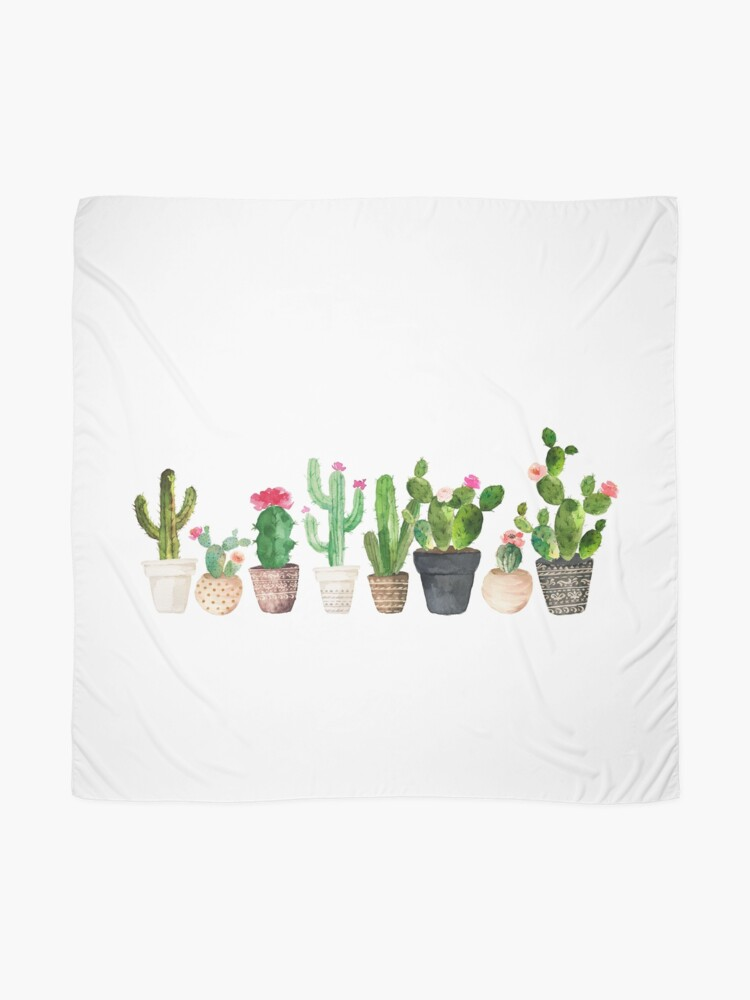 Alternate view of Cactus Scarf