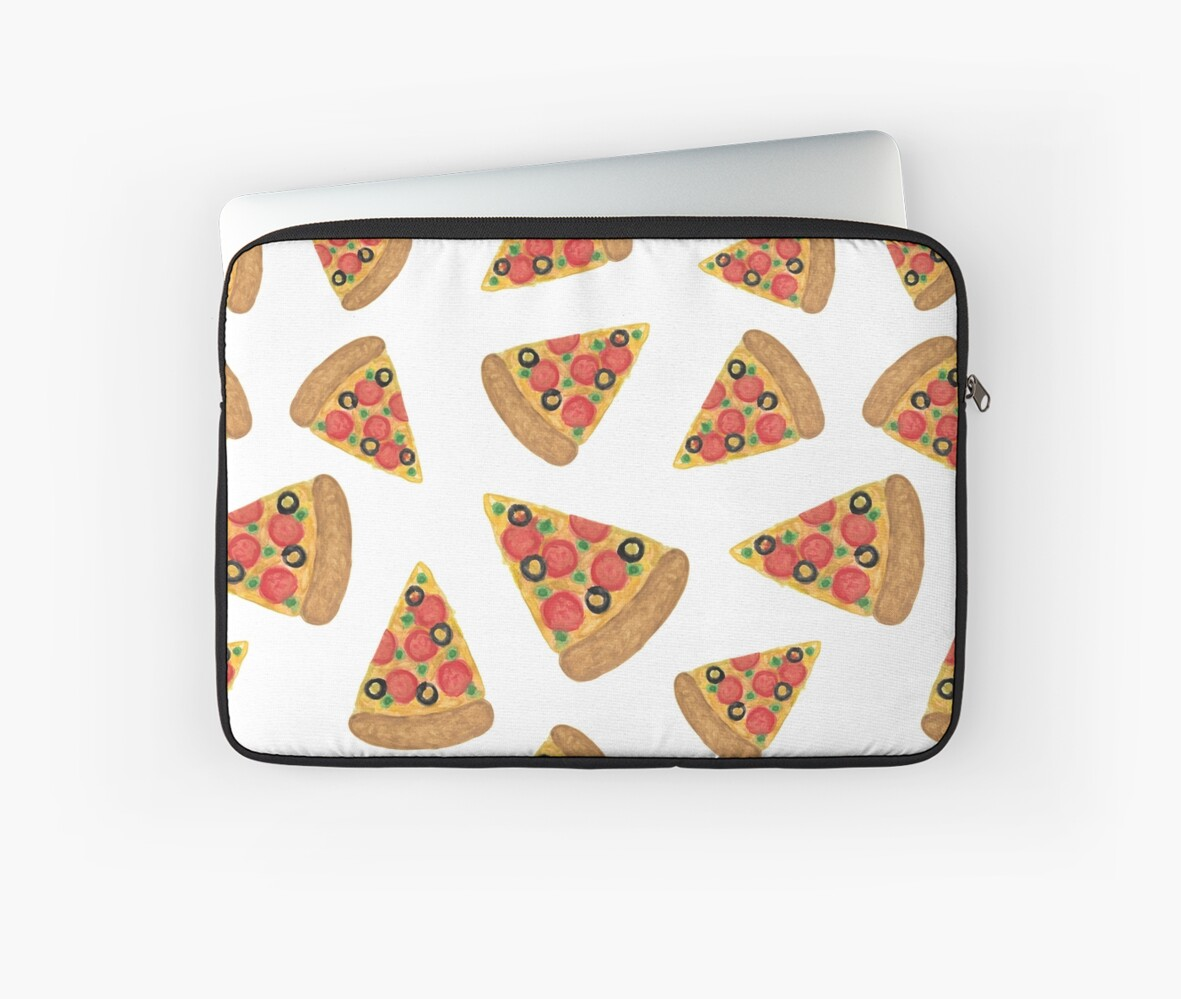 Pizza Pattern by julieerindesign