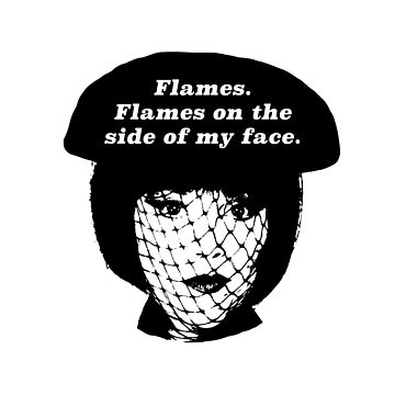 Flames on the Side of My Face by thegits