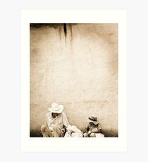 Father&Son Art Print