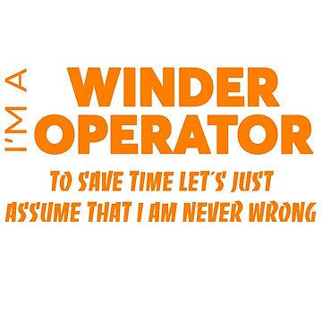 WINDER OPERATOR by audioenginee
